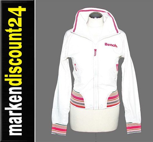 Xs Bench: Bench Damen Jacke Mantel Parka Saturady 1040 / 001 Weiß