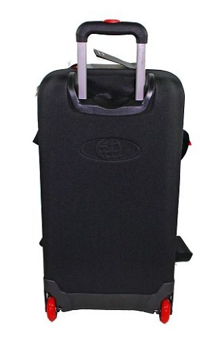 eastpak reisetasche reise tasche trolley trolly rucksack kick 7m schwarz 63l ebay. Black Bedroom Furniture Sets. Home Design Ideas
