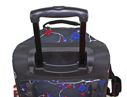 eastpak reisetasche reise tasche trolley trolly rucksack container schwarz rot ebay. Black Bedroom Furniture Sets. Home Design Ideas