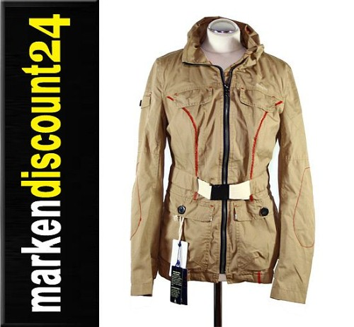 gaastra damen jacke parka mantel fast safari gr m ebay. Black Bedroom Furniture Sets. Home Design Ideas